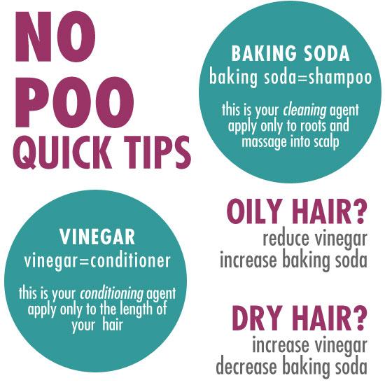 No Poo Quick Tips