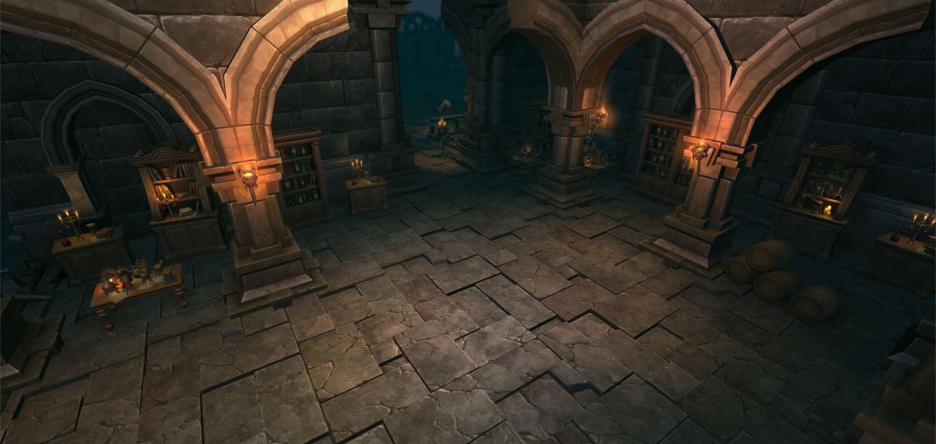 dungeon architect quick start