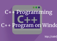 run C++ Program on Windows