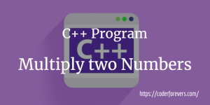 C++ Program to Calculate Power of a Number (In just 10 lines)