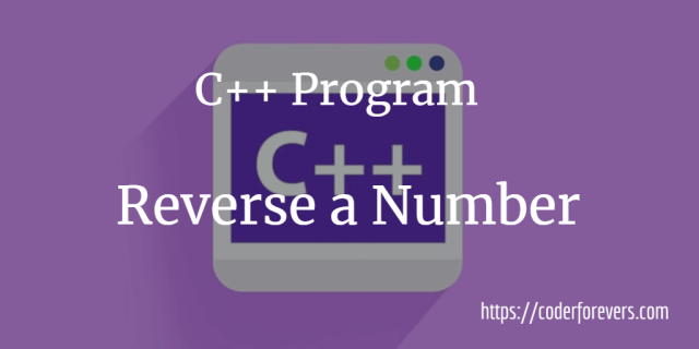 program to reverse integer
