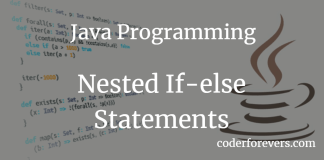 Java Nested If-else Statements