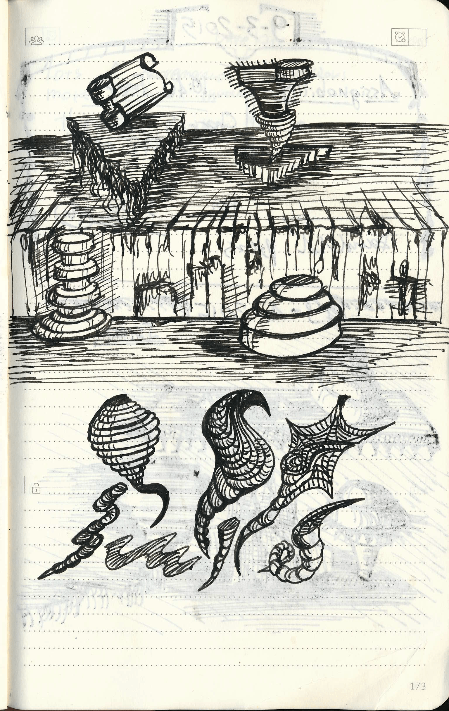 somedoodles Doodle Tuesday: Artifacts doodle art