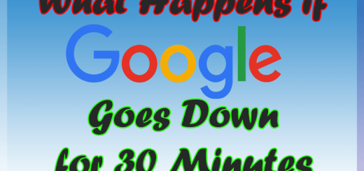 What happens if google down