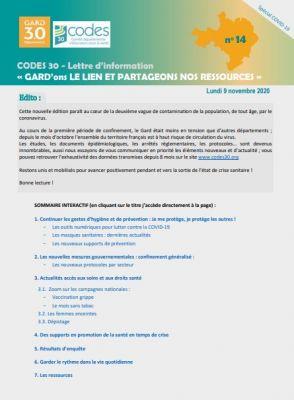 Ville Du Gard En 4 Lettres : ville, lettres, Lettres, D'Information, Documentaires, Spécial, COVID, Codes