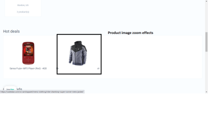 image hover effect cs cart