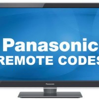 Remote Control Codes For Panasonic TVs