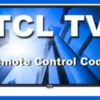 Remote Control Codes For TCL TVs
