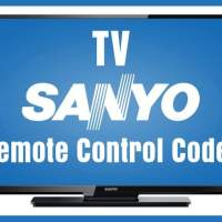 Remote Control Codes For Sanyo TVs