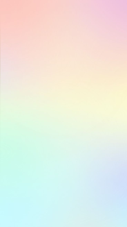 Cute Pastel Rainbow Wallpaper Typography Pastel Colors Gradient Iphone Wallpapers