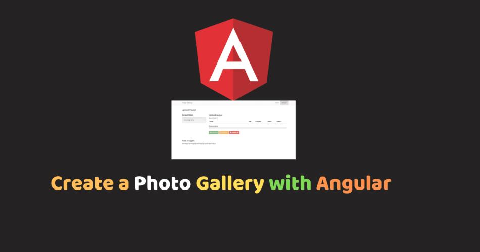 Create a Photo Gallery with Angular