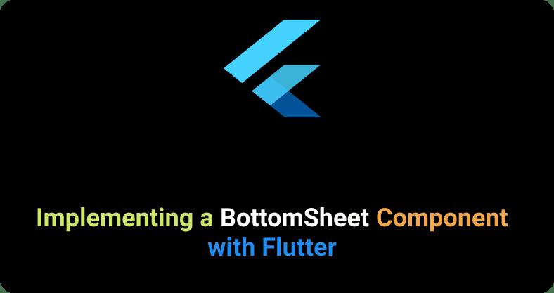 Flutter BottomSheet