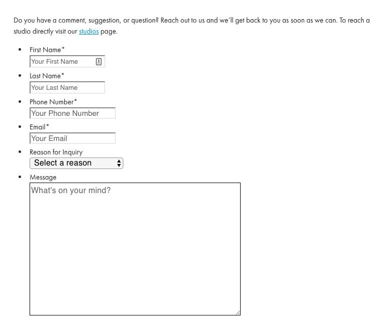 Nếu bạn không output CSS trong Gravity Forms