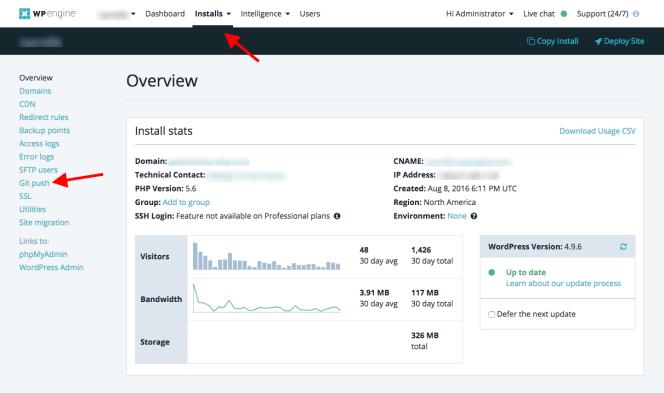 Quản lý SSH Keys trong Git WPEngine