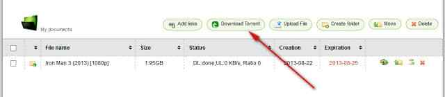 How to Download Torrent File with IDM From Filestream.me 3