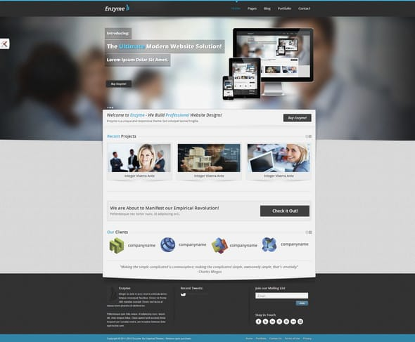 Enzyme-Corporate-Template