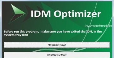how to increase download speed in idm