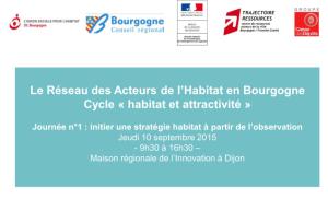 """Cycle """"Habitat et Attractivité"""""""