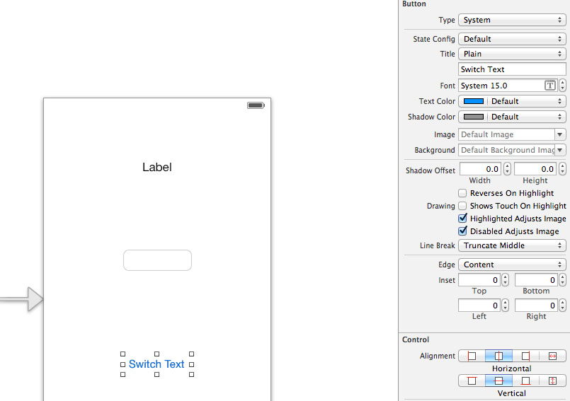 XCode Tutorial Practice 2: Buttons, Textboxes and Handling