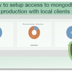 How to setup access to mongodb in production with local clients ( Robomongo HumongouS.io )