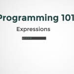 Expressions in programming