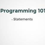 What are Programming Statements?
