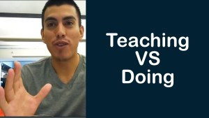 Teaching Developers vs Being a Developer