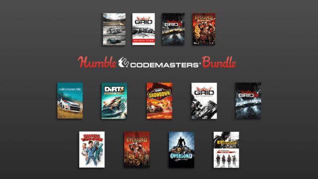 The Humble Codemasters Bundle