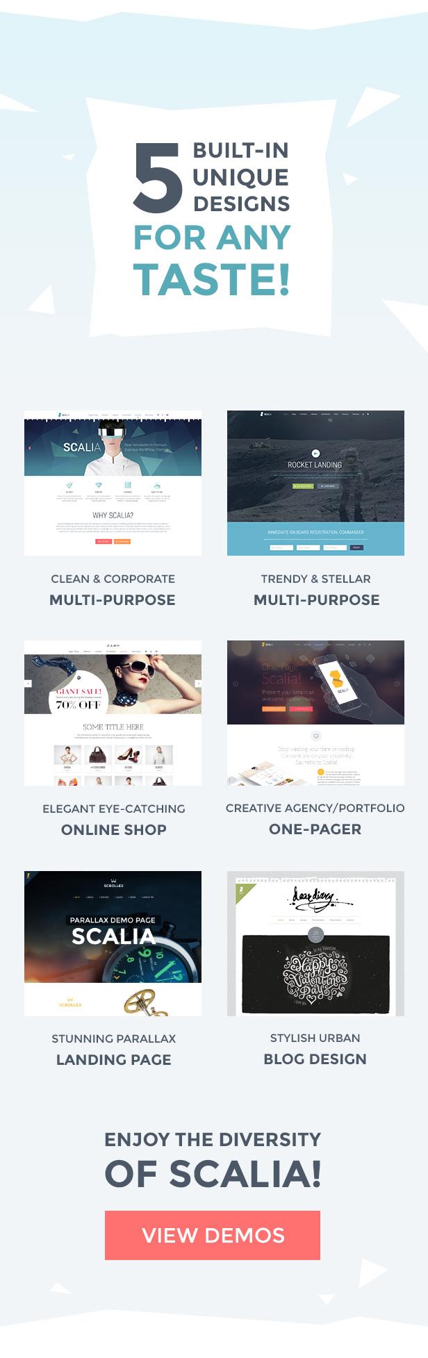 Scalia - Multi-Concept Business, Shop, One-Page, Blog Theme - 1