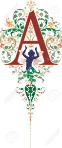 23262802-fantasy-style-english-alphabet-letter-a-colored