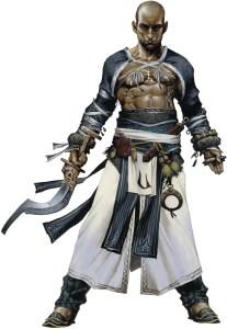 Monk - Sajan