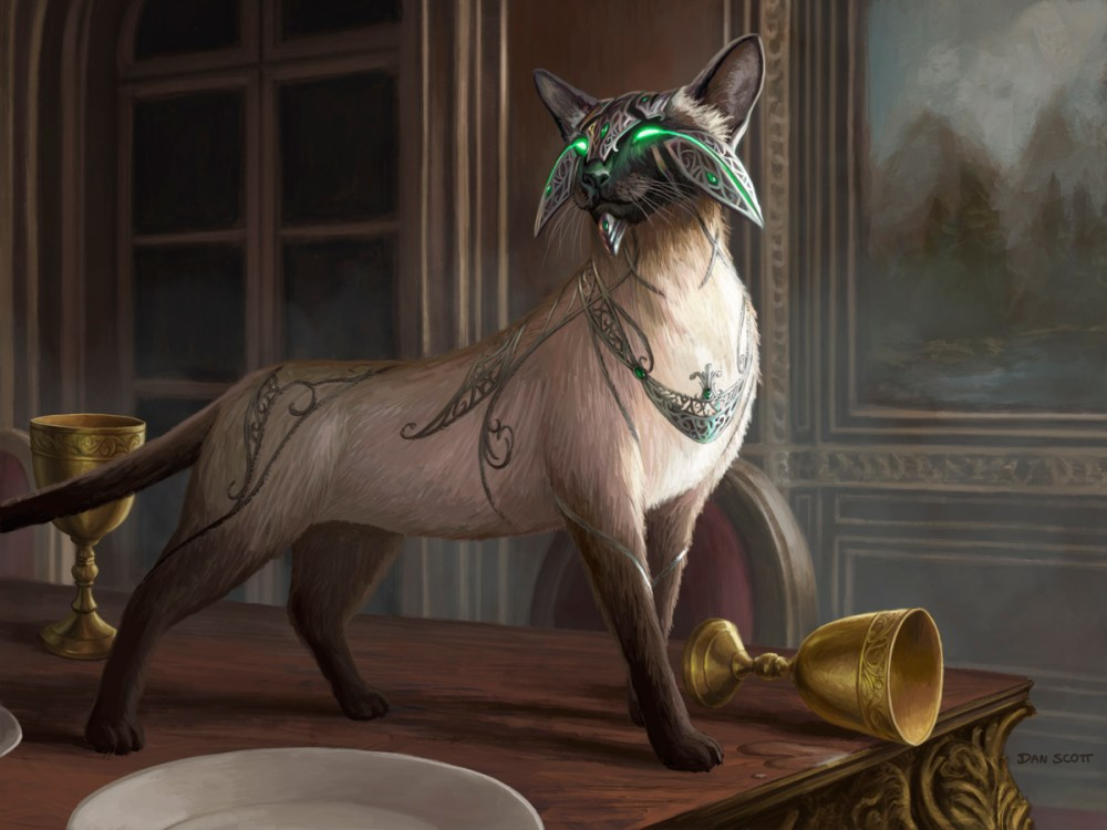 Feline-Sovereign-Core-Set-2021-MtG-Art