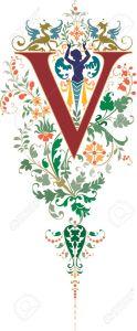 alphabet (v)