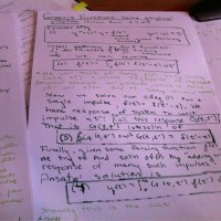 Lecture Notes on Green's Functions for lecture given on St. Patrick's day, so written in Green naturally.