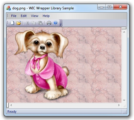 WIC Wrapper Library - Sample Application