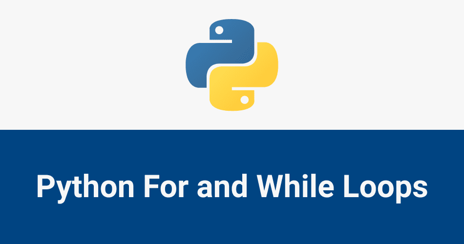 python for and while loops