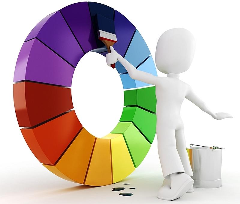 Arredare una casa è un fattore personale e le tinte utilizzate. Tabella Colori Vernici
