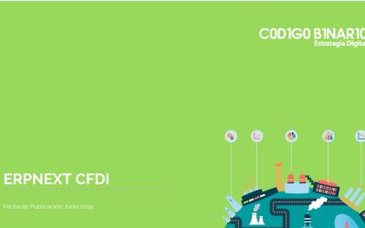 ERPNEXT – CFDI version 3.3 Lista!