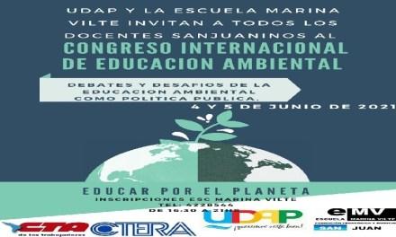 <h6>4 y 5 de junio de 2021</h6><h1>Congreso Internacional de Educación Ambiental</h1>