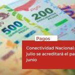 <h6>Pagos</h6><h1>Conectividad Nacional: El 27 de julio se acreditará el pago de junio</h1>