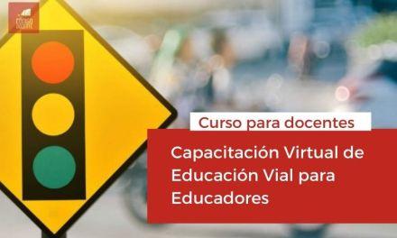 Capacitación Virtual de Educación Vial para Educadores