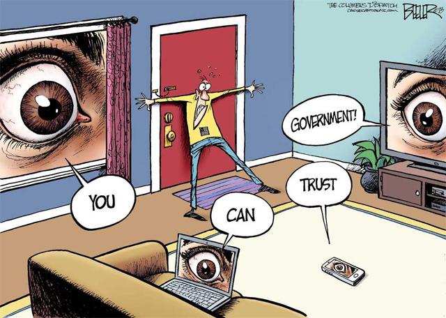 Caricatura-NSA