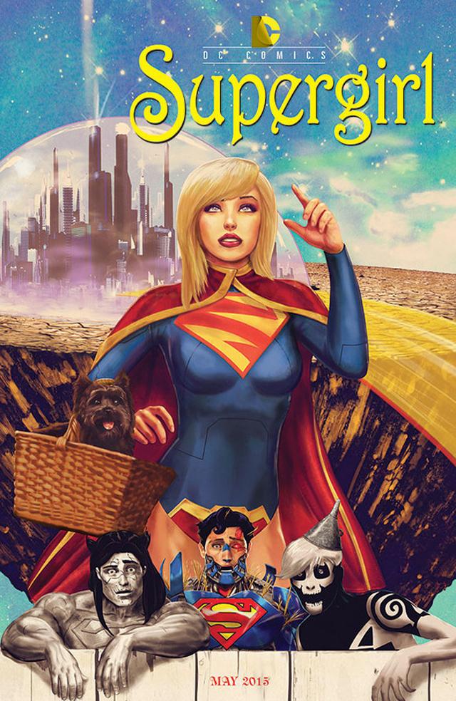 DC Comics reinventa sus portadas como pósters de cine - Código Espagueti