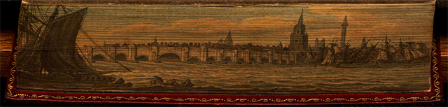 Vista del London Bridge, en El paraíso perdido de John Milton