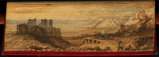 Castillo de Oystermouth, en La Odisea de Homero