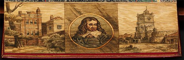 Tríptico de Milton, en El paraíso perdido de John Milton
