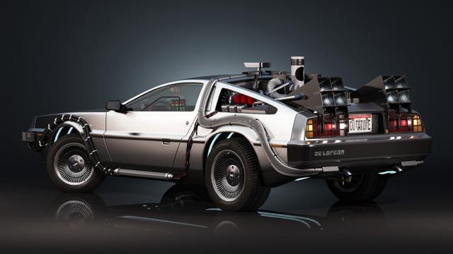 Volver-el-Futuro-DeLorean