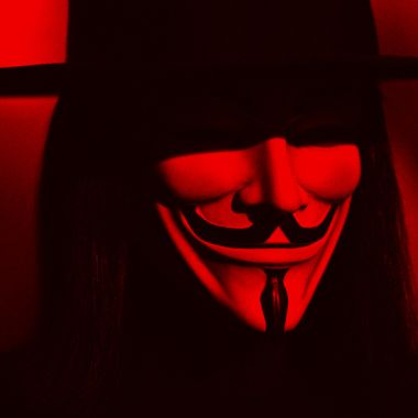 La máscara de V de Vendetta
