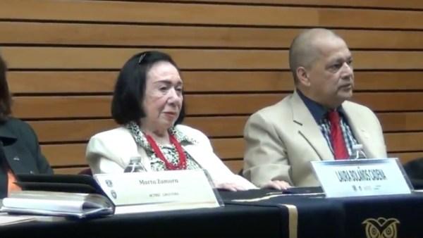 Bolaños en la Facultad de Filosofía de la UNAM