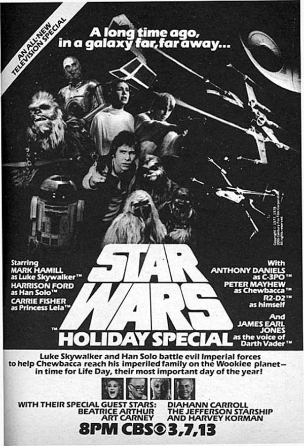 El anuncio promocional del especial navideño original